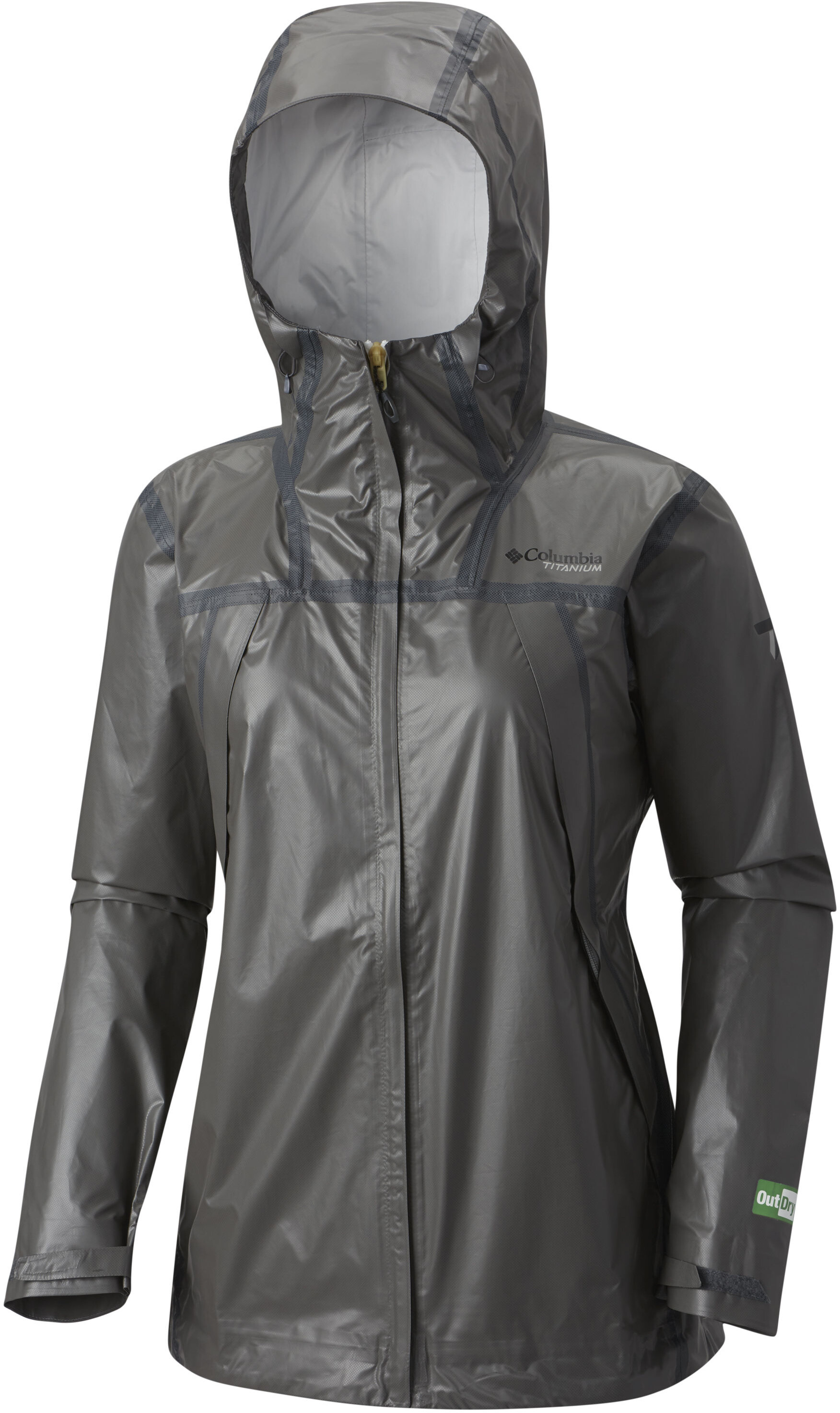 Columbia OutDry Ex ECO Tech - Chaqueta Mujer - gris  1aee98c76d92